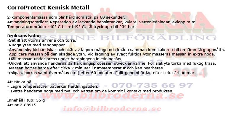 kemisk metall temperatur